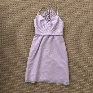 David's bridal lavender dress